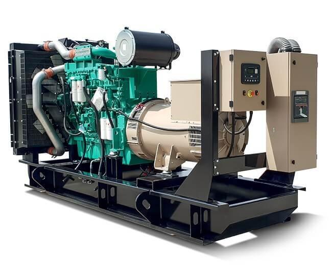 Ghaddar Generator CT150– CT165S (50 Hz) powered by Cummins