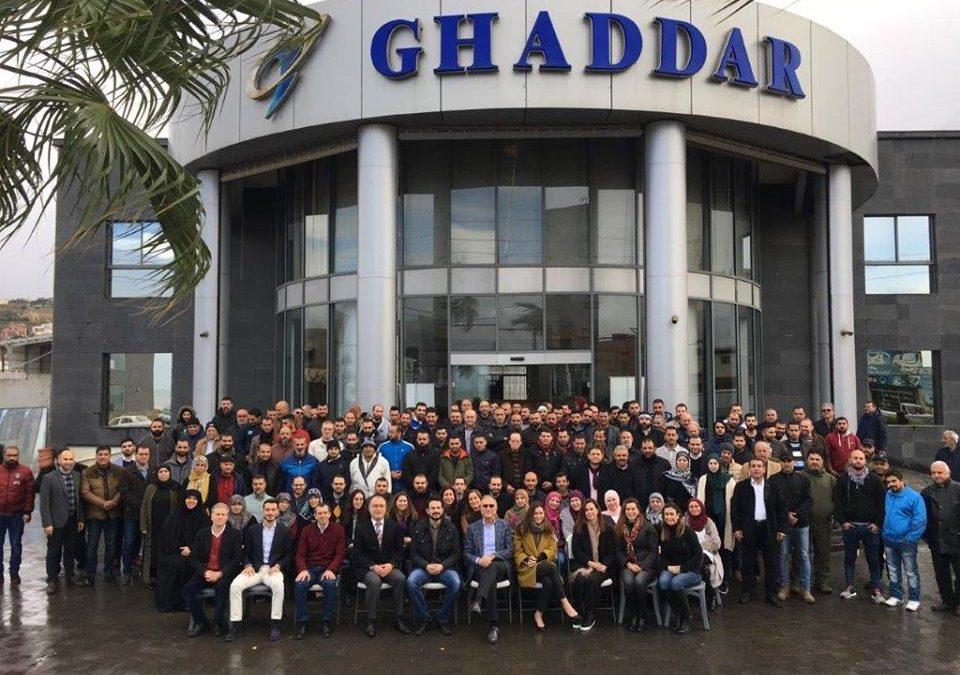 Ghaddar Machinery end of year 2019 celebration