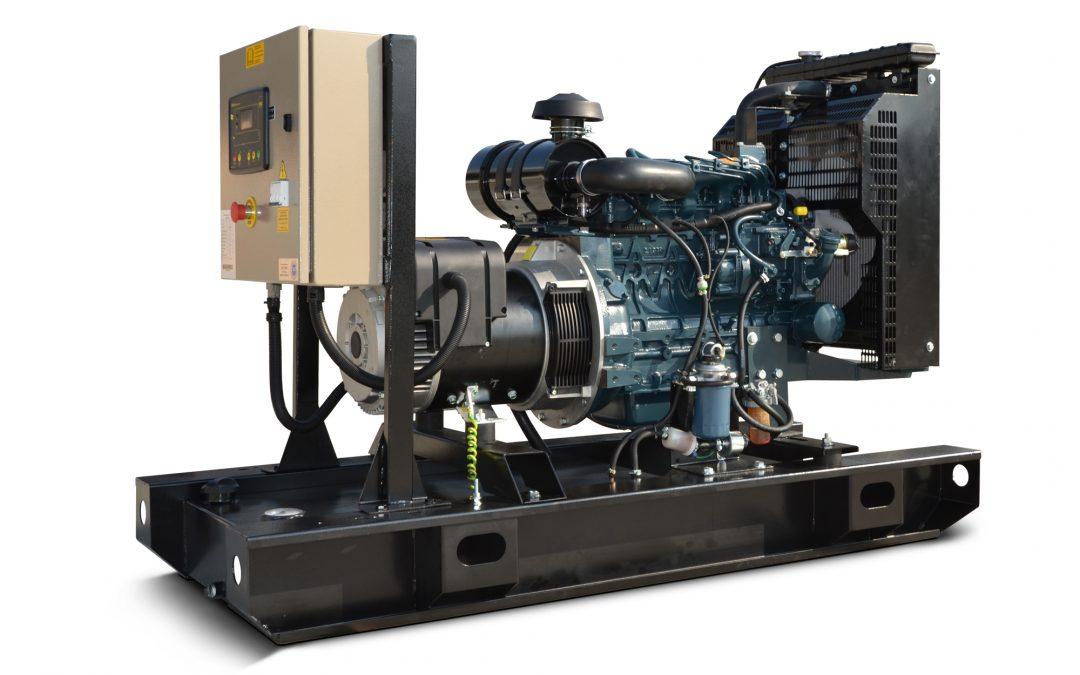 Ghaddar Generator KT15 – KT17S (1500 rpm) – 1 Phase powered by Kubota