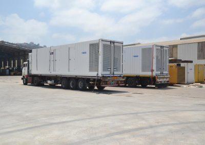 Ghaddar Generators Powered by Cummins G-drive Engines Off to Iraq