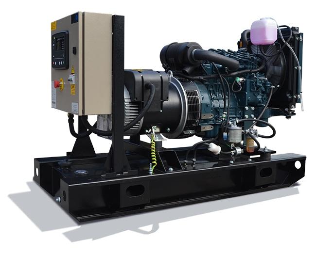 Ghaddar Generator KT12.5 – KT13.5S (1500 rpm) powered by Kubota Image