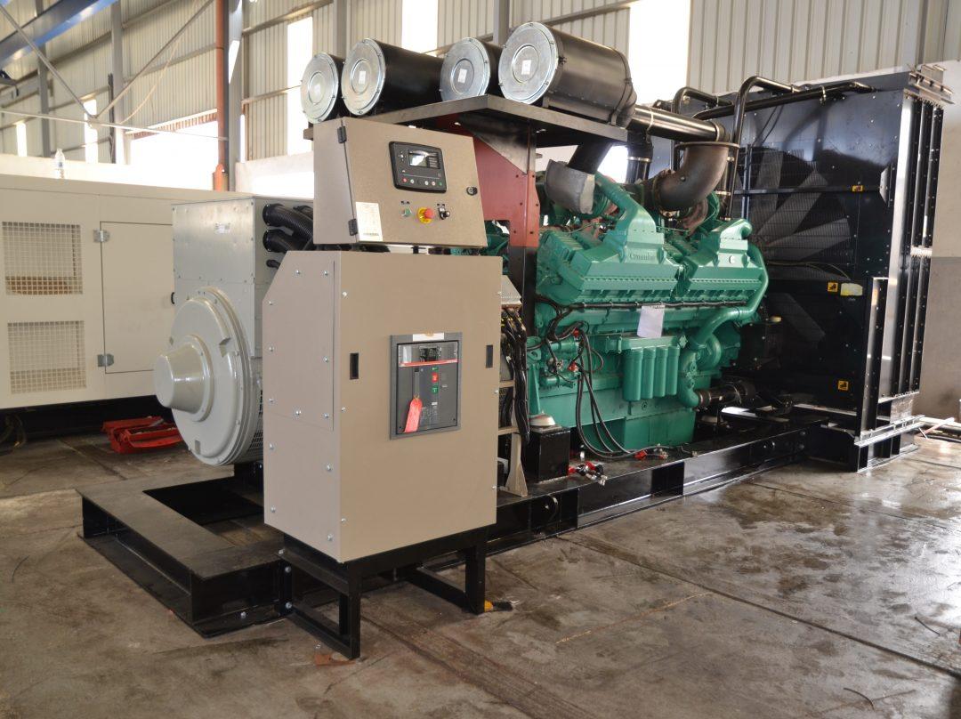 The Best in Class Ghaddar 2000 kVA Generator Powered by Cummins QSK60-G4