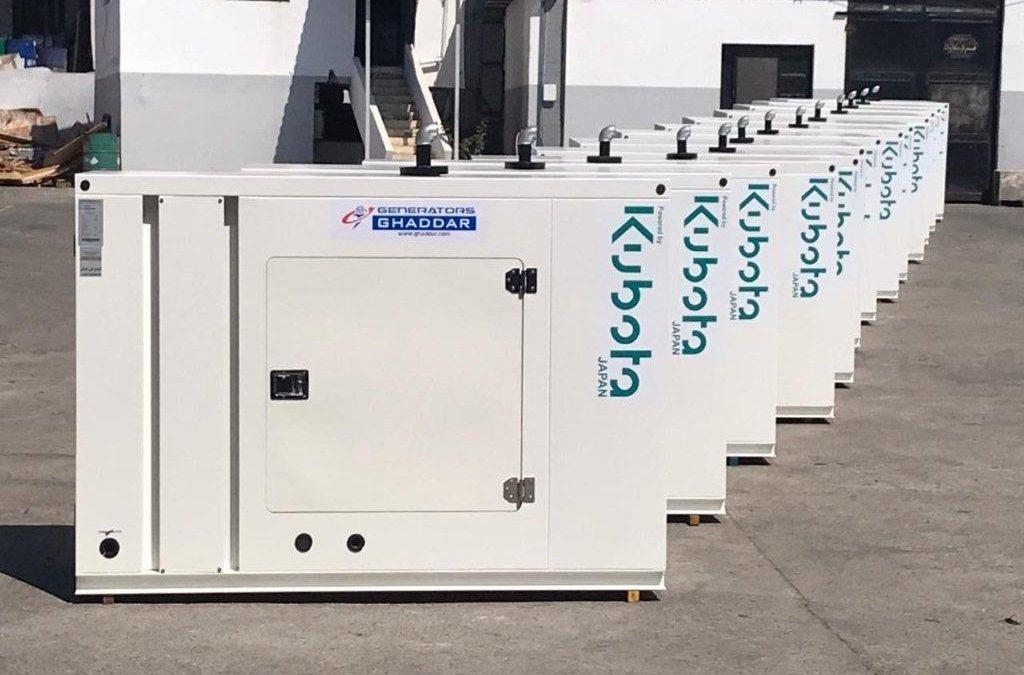 Ghaddar Kubota Generators Powering Telecoms in Iraq
