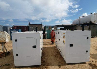 John Deere Generators Supporting Construction Companies